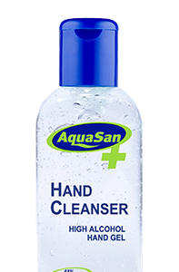 Malibu AquaSan Hand Sanitiser With 65% Alcohol And Aloe Vera – 100ml