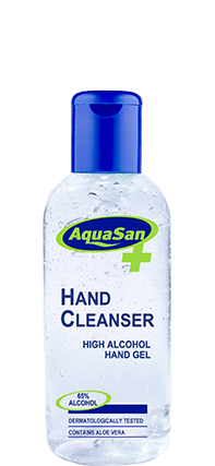 Hand cleansing high alcohol gel 100ml