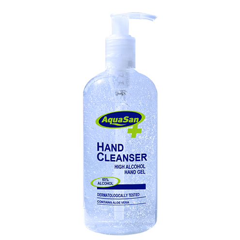 High Alcohol Hand Cleansing Gel