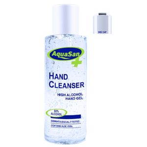 Malibu AquaSan Hand Sanitiser With 65% Alcohol And Aloe Vera – 200ml